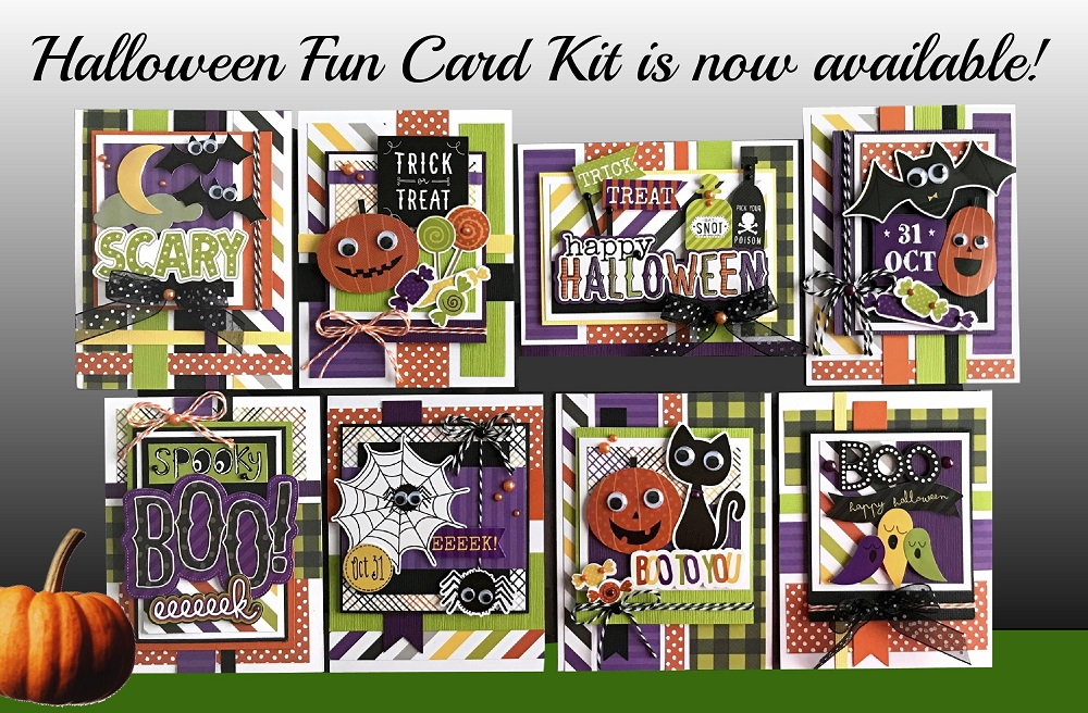 kim's card kits  unique handmade card kits  card making kits