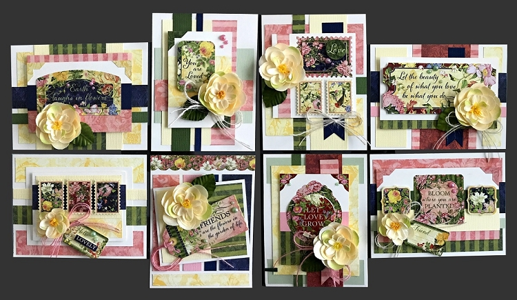 Lovely florals card kit kims card kits handmade greeting card kit lovely florals card kit m4hsunfo