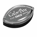 CHARCOAL ColorBox Fluid Chalk Cat's Eye Inkpad