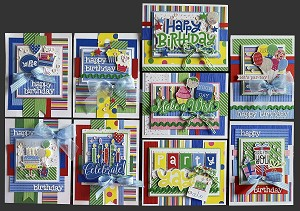 Happy Birthday Card Kit