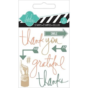 "Thank You Clear Mini Stamps 3""X3.5"""