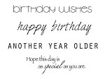 Birthday Mini Clear Stamps 2.25