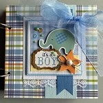 Baby Boy Mini Book Kit
