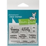 Lawn Fawn Tiny Tags Birthday Clear Stamps 2